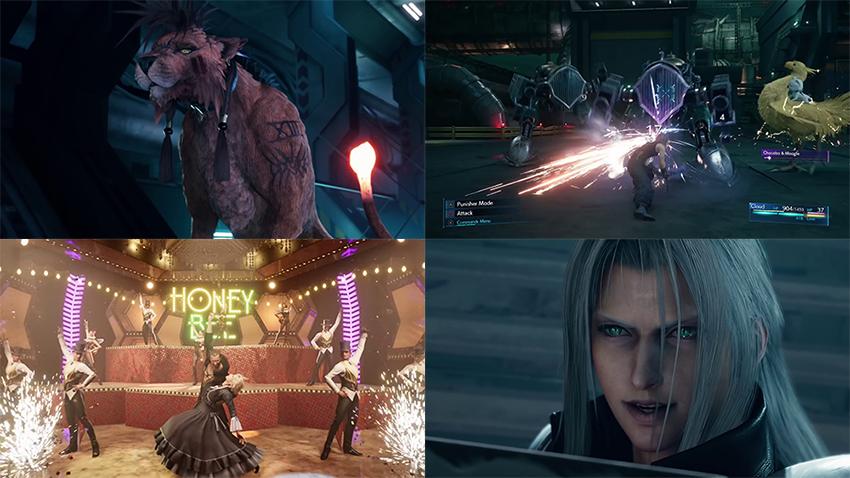Un clip pour Final Fantasy VII Remake - Square Enix