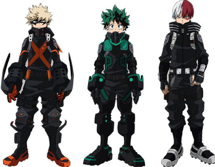 My Hero Academia World Heroes : les nouveaux costumes de Deku, Bakugo et  Todoroki - Adala News